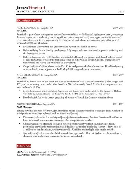 Industry Resume Template 1000 images about entertainment resumes on