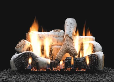 Propane Gas Logs For Fireplace by Empire 30 Quot Birch Ceramic Fiber Ventless Propane Gas Log