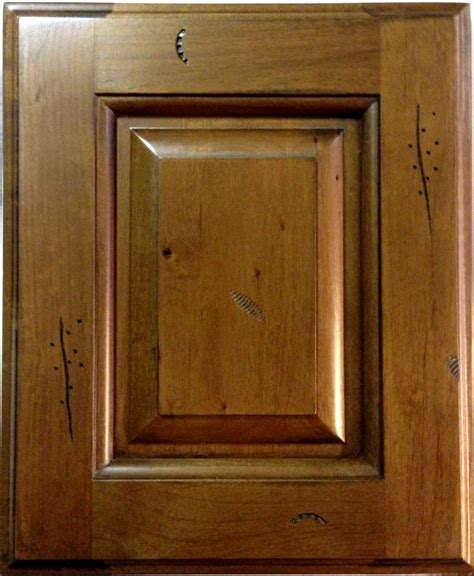 rustic kitchen cabinet doors rustic pecan maple kitchen cabinets