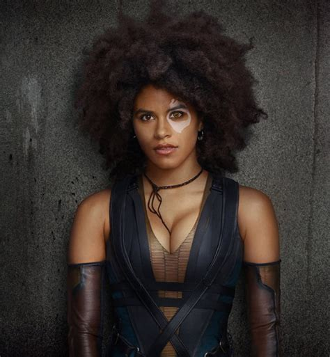 twitter goes wild at zazie beetz s casting in deadpool 2