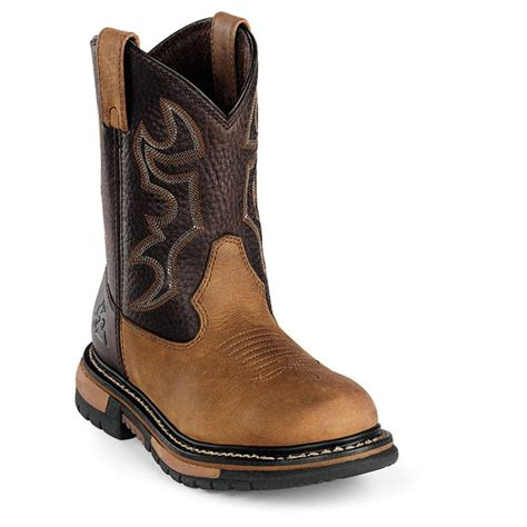 roper boots kid s rocky 174 branson roper boots 166393 cowboy