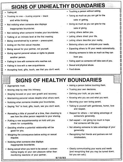Setting Healthy Boundaries Worksheets by Healthy Boundaries Worksheet Don T Just Pretend That You