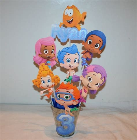 142 Best Images About Birthday Party Ideas On Pinterest Guppies Centerpiece Ideas
