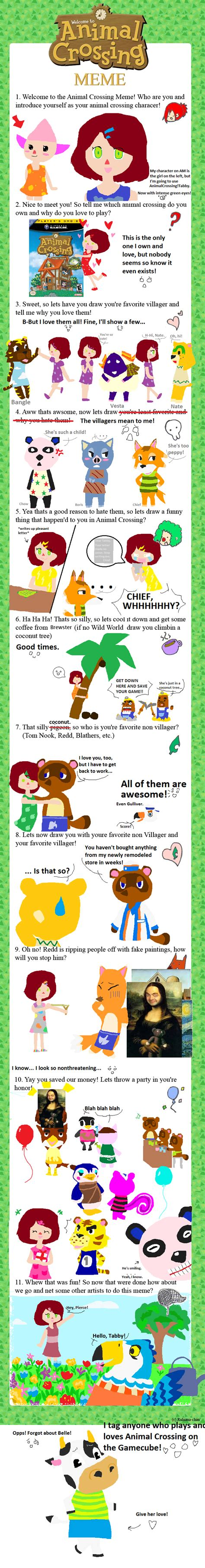 Animal Crossing Memes - animal crossing meme by tabberhatter on deviantart