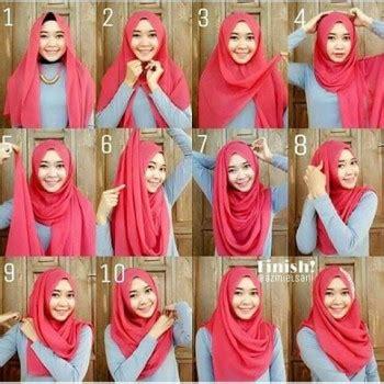 tutorial segi empat double tutorial hijab segi empat yang anggun remaja update