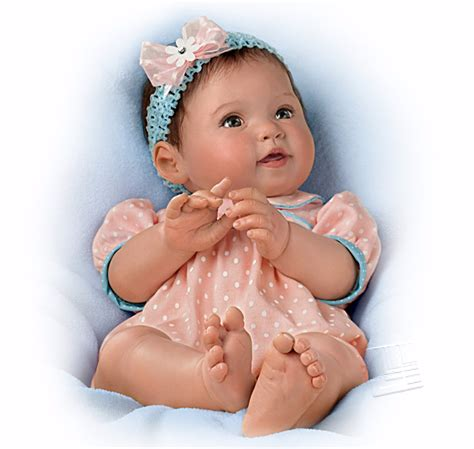 Ashton Kutcher Dress Up Doll by Littlest Sweetheart Weighted Poseable Baby Doll By Ashton