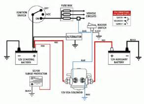 winch battery isolator wiring diagram winch get free image about wiring diagram