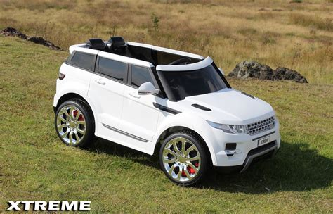 land rover kid xtreme toys range rover hse sport 12v electric jeep