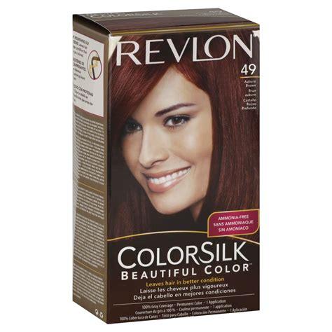 revlon colorsilk beautiful color permanent hair color 05 revlon colorsilk beautiful color permanent color auburn