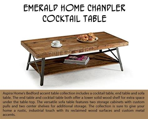 emerald home chandler cocktail table 10 amazing decor pieces that ll add character to your home
