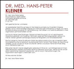 Anschreiben Anrede Doktor Bewerbungsschreiben Muster Chirurg Livecareer