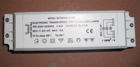Transformer For Lv Halogen Ls by Aliexpress Buy 210w Electronic Transformer For Lv