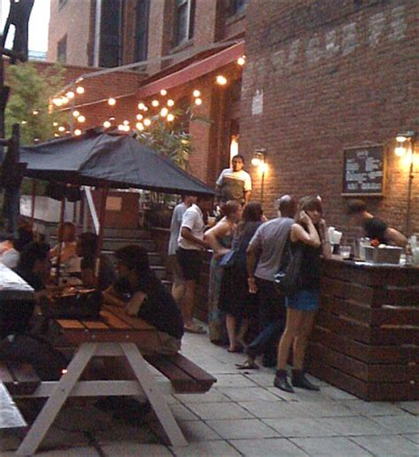 backyard bar brooklyn speak low opens outdoor bar speak up in dumbo dumbo nyc