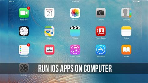 computer app run ios apps on computer how to