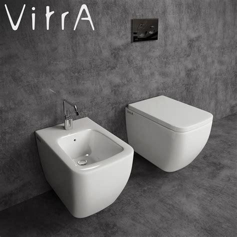 Commode And Bidet Toilet And Bidet Vitra Shift 3d Model Max Cgtrader