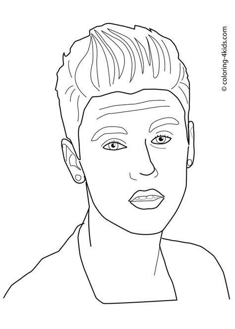 justin bieber coloring pages games 432 best images about para colorear on pinterest