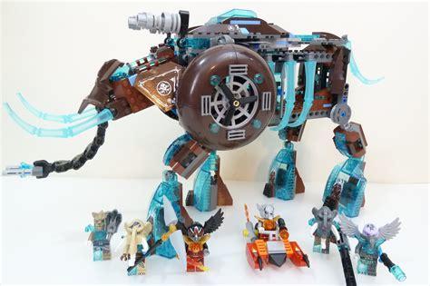 Lego Lele 79115abcd 1 4 Set Chima lego legends of chima 70145 maula s mammoth sters