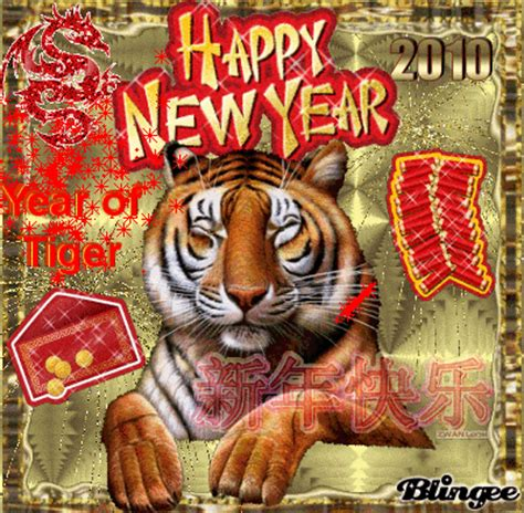 tiger new year happy new year of tiger picture 104828805 blingee