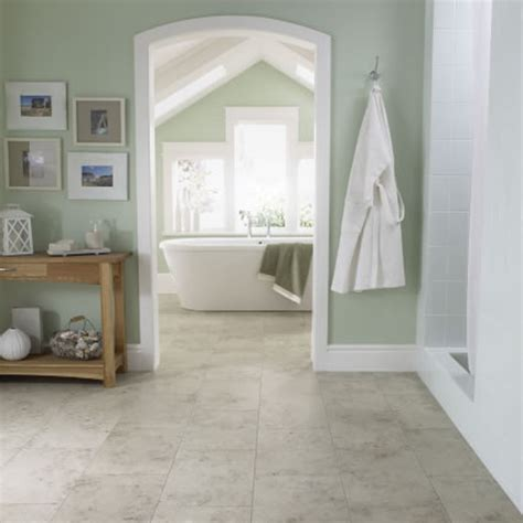 green wall paint of attic bathroom design idea using marble green marble floor tiles