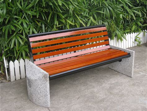 Wooden Park Benches For Sale Custom Made Outdoor Curved Wood Bench With Backrest Buy