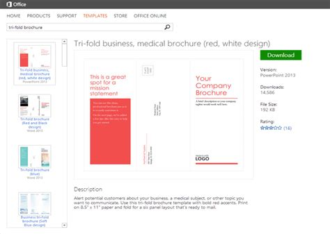 microsoft office brochure templates how to create a company brochure on a budget spicy