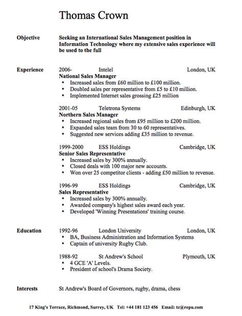 contoh cv resume bahasa inggris 2016 contoh cv bahasa