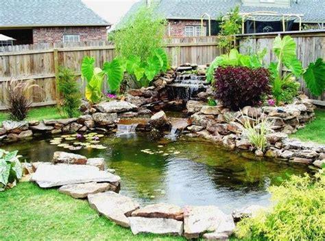 landscape water features waterfalls pool design ideas