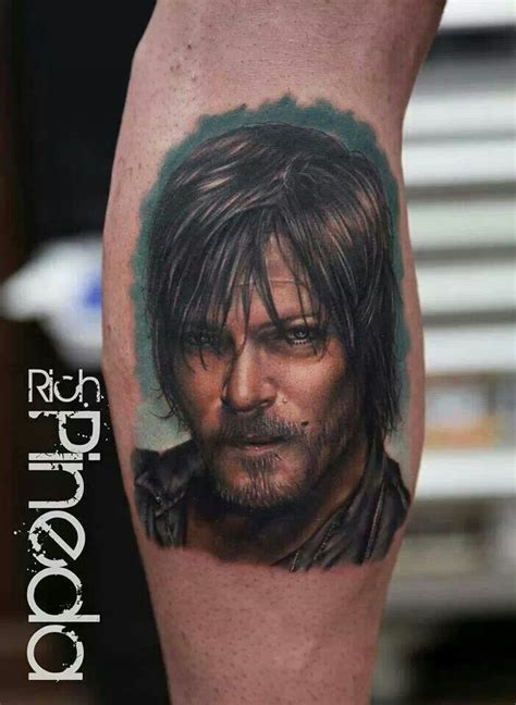 the walking dead tattoo walking dead tattoos