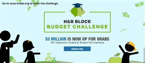 H&R Block Budget Challenge: Money Game with Real Rewards H And R Block Budget Challenge Tips