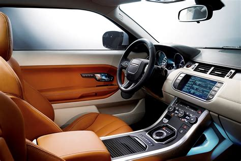 range rover evoque interior range rover evoque price info starts at 43 995 autotribute
