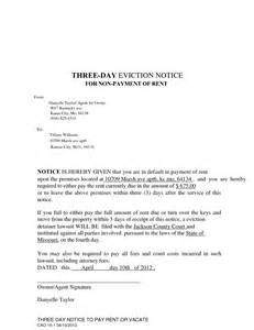 3 day eviction notice template best photos of 3 day eviction notice 3 day eviction