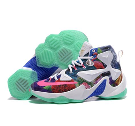 colorful basketball shoes nike lebron 13 basketball shoes colorful sale