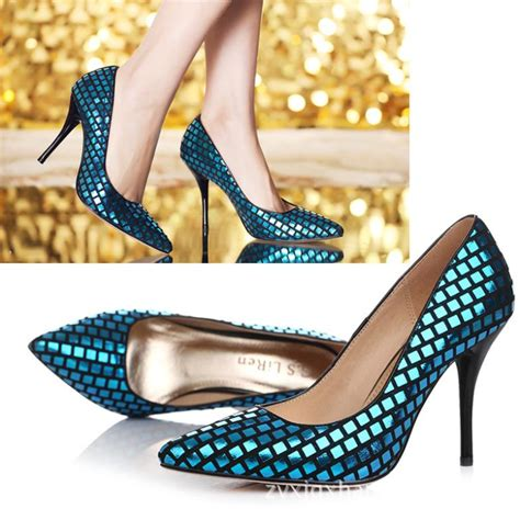 Best Seller Wedges On 02 Wedges best selling pointed toe genuine leather high heels glitter decoretion sandals shoes