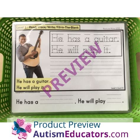 writing center mats read trace write fill in the blank for