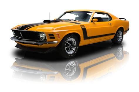 Grabber Orange 1970 Ford Mustang Boss 302 For Sale   MCG