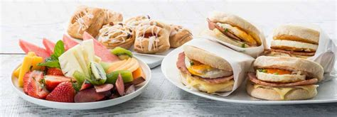catering ideas corporate breakfast catering ideas order in