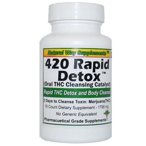 Detox Pills F by Thc Detoxification 420 Rapid Detox And Ultimate Gold Thc