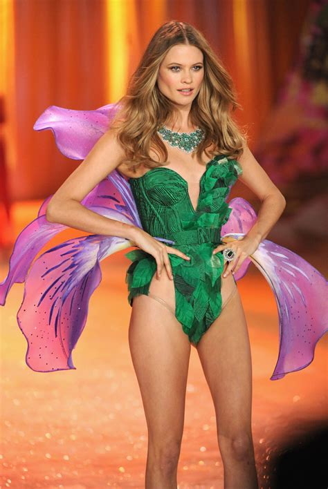victorias secret model behati prinsloo has wardrobe behati prinsloo photos photos 2012 victoria s secret