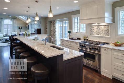 kitchen island raised breakfast bar design ideas kitchen island with raised breakfast bar winda 7 furniture