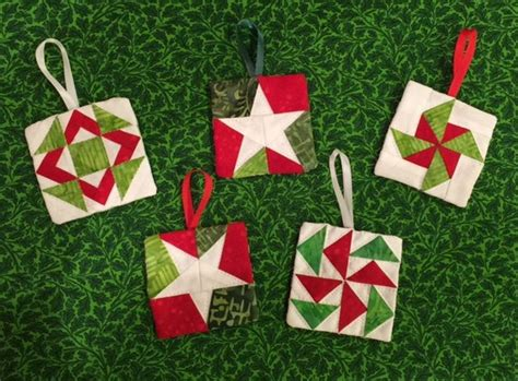 paper christmas ornaments patterns paper pieced ornaments