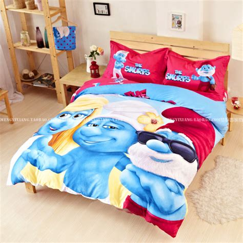 New Kids Bedding Set Twin Full Queen King Size Blue Boys