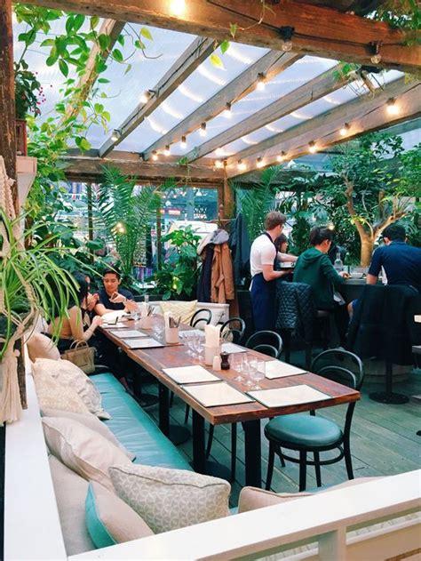 garden decoration concept best 20 restaurant design ideas on the