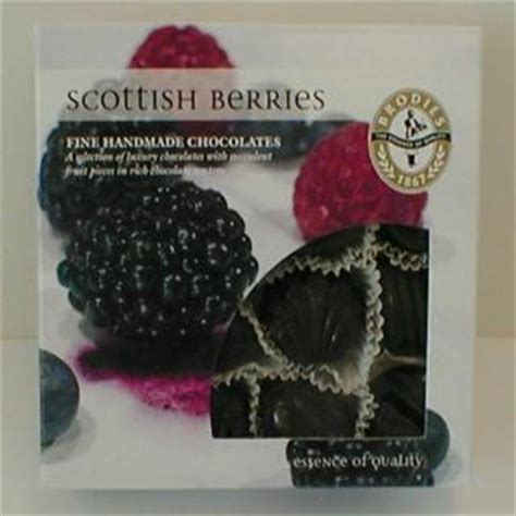 Handmade Chocolates Scotland - brodies handmade chocolate scottish berries