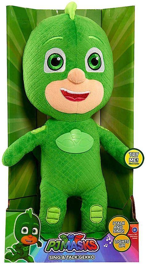 Pj Masks Sing And Talk Plush Gekko buy pj masks sing and talk plush 36 cm gekko incl shipping