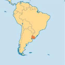 Uruguay On A World Map uruguay operation world