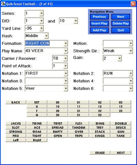football scouting report template professional and high