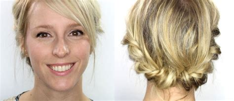 Coiffure Cheveux Mi Court by Tutoriel Coiffure Cheveux Courts Et Mi Longs Maquillage