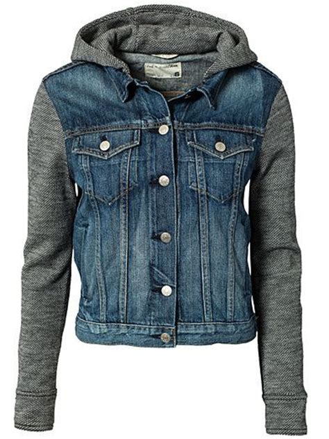 Jaket Hodie Inspire jean jacket and sweatshirt jacket to