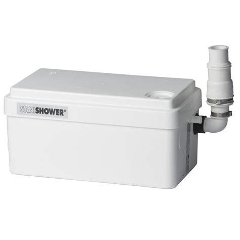 water pump for bathroom saniflo depot upflush toilets saniflo sanishower gray water pump