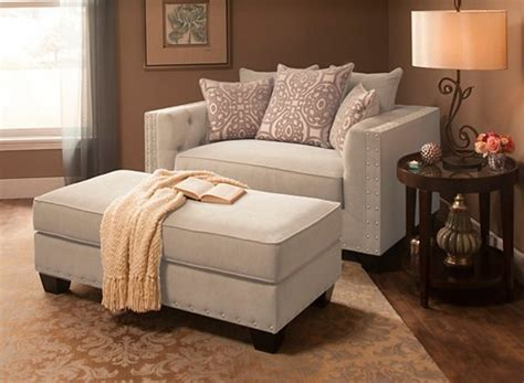 Living Room Chairs by Calista Microfiber Chair And A Half